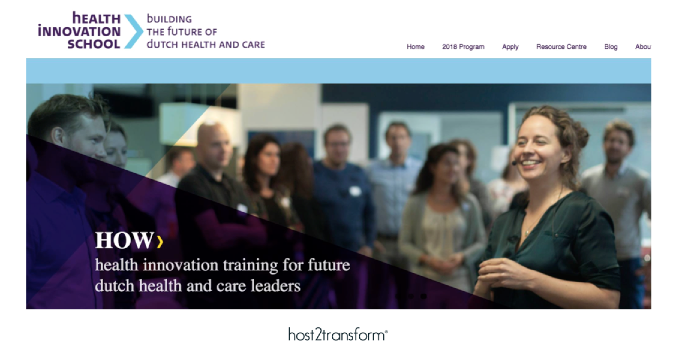 HOST at the Health Innovation School Radboud University Nijmegen